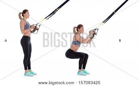 Trx Squat Exercise
