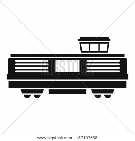 Freight train icon icon. Simple illustration of freight train vector icon for web design