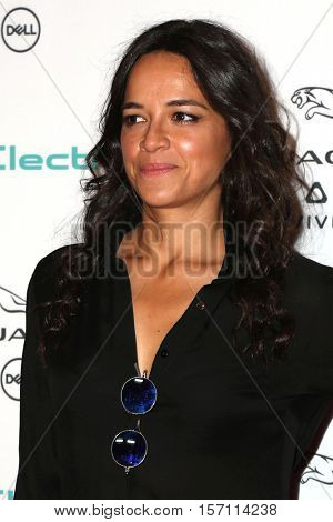 LOS ANGELES - NOV 14:  Michelle Rodriguez at the Unveiling Next Era Jaguar Vehicle at Milk Studios on November 14, 2016 in Los Angeles, CA