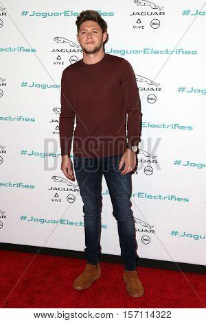 LOS ANGELES - NOV 14:  Niall Horan at the Unveiling Next Era Jaguar Vehicle at Milk Studios on November 14, 2016 in Los Angeles, CA