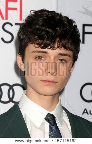 LOS ANGELES - NOV 16:  Lucas Jade Zumann at the A Tribute To Annette Bening And Gala Screening of