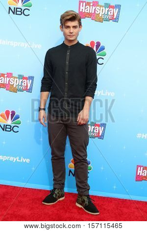 LOS ANGELES - NOV 16:  Garrett Clayton at the