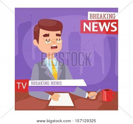 Breaking news people