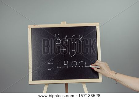 Back To School Blackboard, Chalkboard.