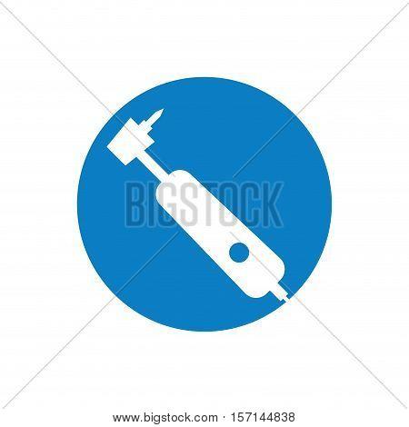 dentist tool isolated icon vector illustration design