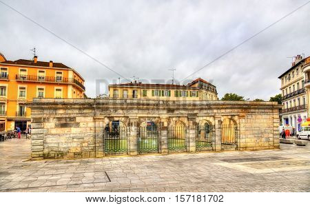 Fontaine Chaude, a spa in Dax - France, Landes Department