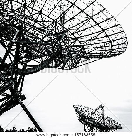 Synthesis radio telescope at Westerbork, Drenthe Netherlands