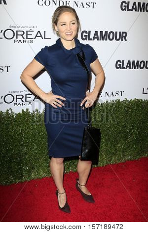 LOS ANGELES - NOV 14:  Erika Christensen at the Glamour Women Of The Year 2016 at NeueHouse Hollywood on November 14, 2016 in Los Angeles, CA