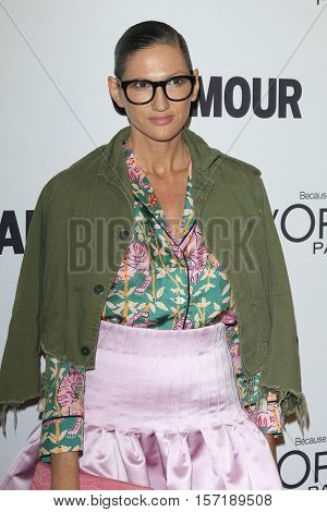 LOS ANGELES - NOV 14:  Jenna Lyons at the Glamour Women Of The Year 2016 at NeueHouse Hollywood on November 14, 2016 in Los Angeles, CA