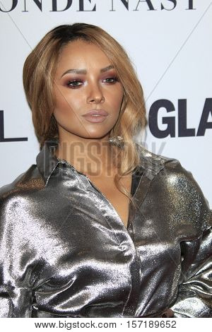 LOS ANGELES - NOV 14:  Kat Graham at the Glamour Women Of The Year 2016 at NeueHouse Hollywood on November 14, 2016 in Los Angeles, CA