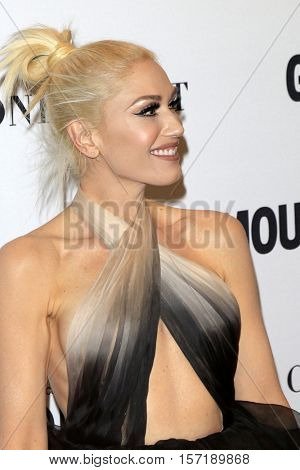 LOS ANGELES - NOV 14:  Gwen Stefani at the Glamour Women Of The Year 2016 at NeueHouse Hollywood on November 14, 2016 in Los Angeles, CA