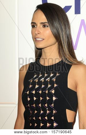 LOS ANGELES - NOV 15:  Jordana Brewster at the People's Choice Awards Nominations Press Conference at Paley Center For Media on November 15, 2016 in Beverly Hills, CA