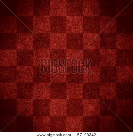 Red Chequered Pattern Texture