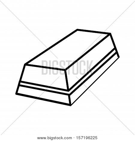 eraser rubber tool icon vector illustration graphic design