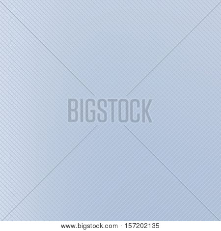 Subtle corporate background texture vector illustration. Light blue etched texture with small light variances. Abstract checkered diamond grid with copy space for business.