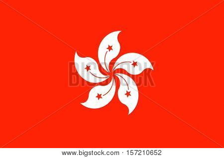 Flag of Hong Kong officially Hong Kong Special Administrative Region of the Peoples Republic of China