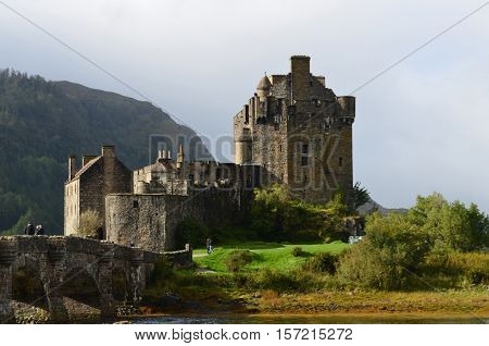 Eilean Donan Castle is the home of clan Mackenzie.