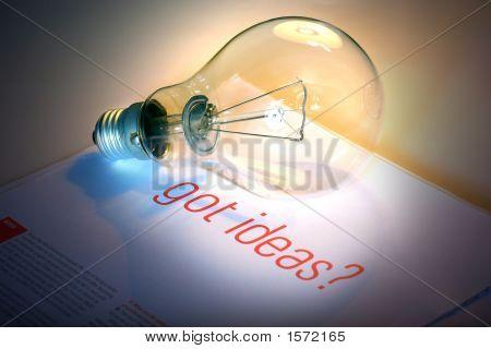 Got Ideas With Lightbulb