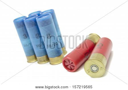 charged ammunition for hunting rifles for hunting in the wild