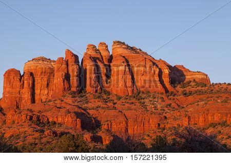 the red rock landscape of Sedona Arizona
