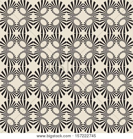 Retro Background. Brown Seamless Pattern. Color Wallpaper