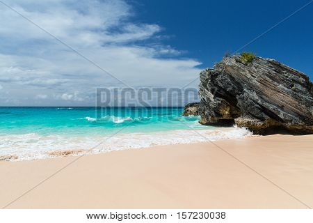 Horseshoe Bay is a famous beach in Bermuda.
