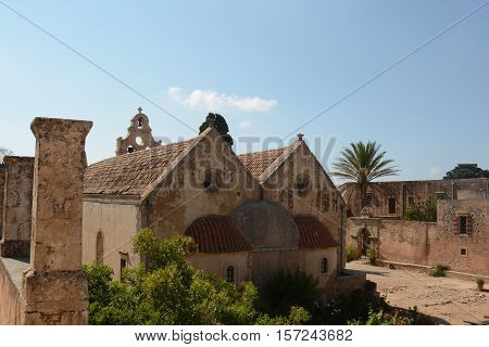 Arkadi Monastery, Crete Moni Arkadiou!  Memorial and amazing place!