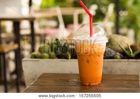 Ice Thai Milk Tea Drink