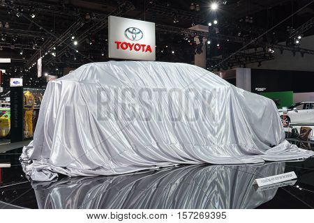 Toyota Debut Car On Display