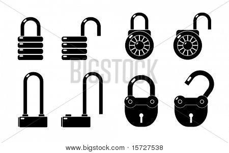 Lock - icon set