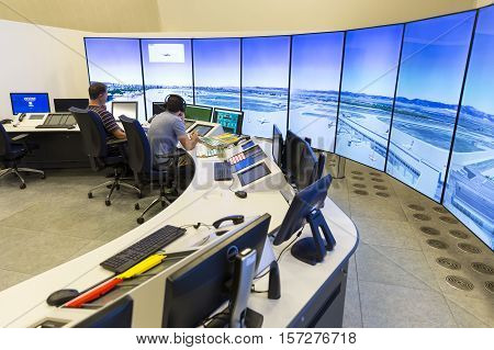 Air Traffic Controllers Monitors