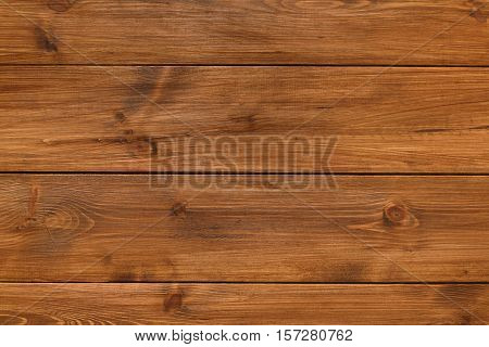 Brown wood texture and background. Wooden table surface, top view