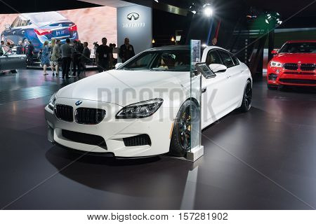 Bmw M6 On Display
