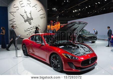 Maserati Granturismo On Display