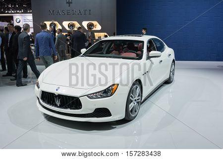 Maserati Ghibli On Display