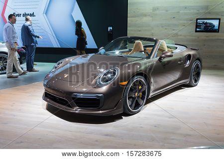 Porsche 911 Turbo On Display