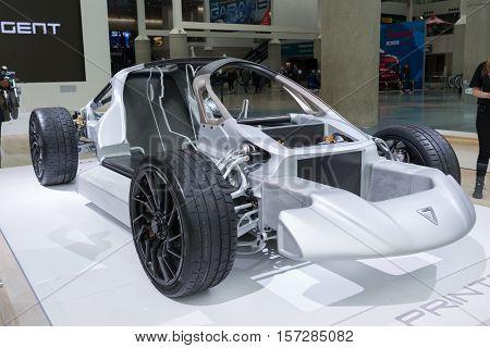 Blade, First 3-d Printed Supercar