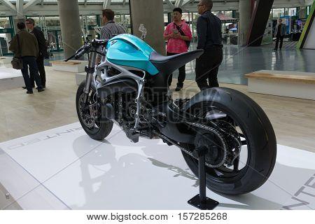 3D-printed Super Bike
