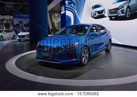 Hyundai Ioniq On Display