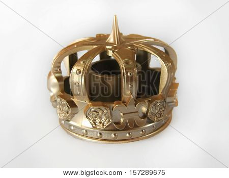 Queen crown isolated on a white background
