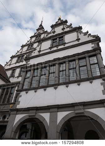 the nice City of Paderborn in germany