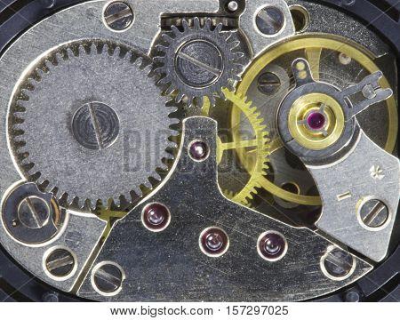 clockwork old mechanical high resolution and detail