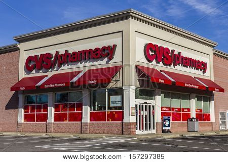 Anderson - Circa November 2016: CVS Pharmacy Retail Location. CVS is the Largest Pharmacy Chain in the US VI