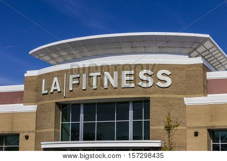 Indianapolis - Circa November 2016: LA Fitness Health Club. LA Fitness is a privately owned health chain with over 500 clubs across the US I