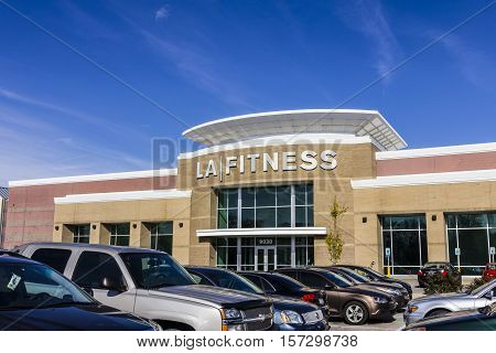Indianapolis - Circa November 2016: LA Fitness Health Club. LA Fitness is a privately owned health chain with over 500 clubs across the US III