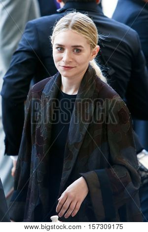 NEW YORK-MAY 5: Actress Mary Kate Olsen attends the ribbon cutting ceremony for the Anna Wintour Costume Center Grand Opening at the Metropolitan Museum of Art on May 5, 2014 in New York City.