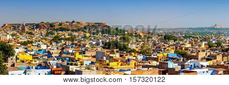 View of Jodhpur Rajasthan India Asia architecture