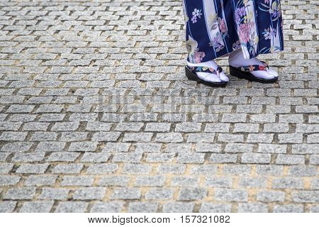 Geisha`s Traditional Sandals