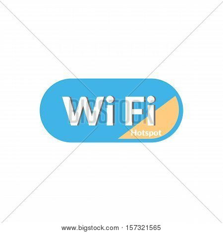 Hotspot Wifi Icon Is Basic Vector Icon, Eps10