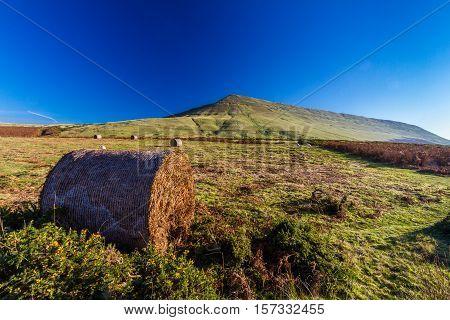 Hay Bluff in the Black Mountains. Near Hay on Wye Powys Wales United Kingdom.